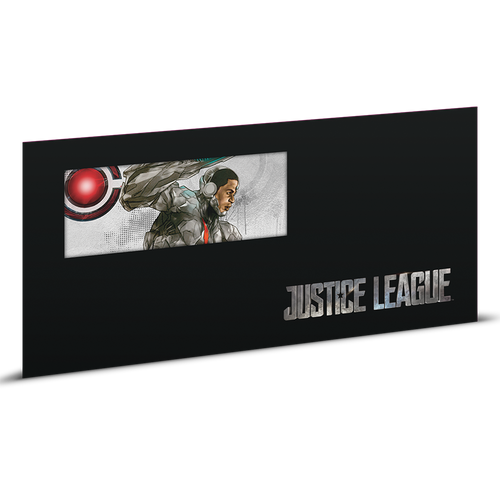 Justice League Series - CYBORG™ 5g Silver Coin Note Sleeve