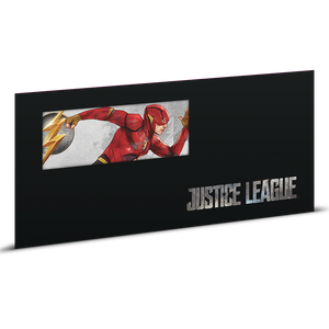 Justice League Series - THE FLASH™ 5g Silver Coin Note Sleeve