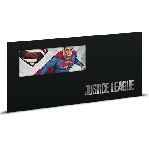 Justice League Series - SUPERMAN™ 5g Silver Coin Note Sleeve