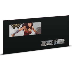 Justice League Series - WONDER WOMAN™ 5g Silver Coin Note Sleeve
