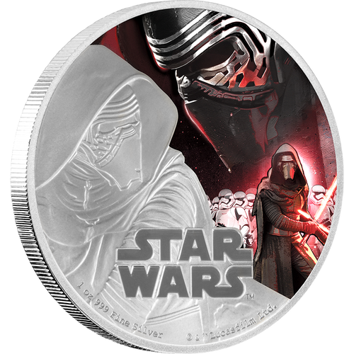Star Wars: The Force Awakens - Kylo Ren™ 1oz Silver Coin