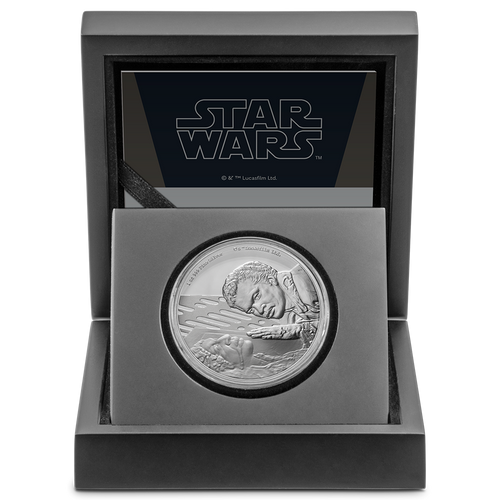 Star Wars Classic: Lando Calrissian™ 1oz Silver Coin Display