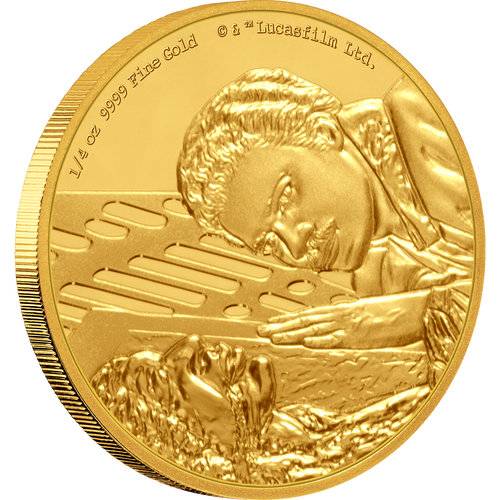 Star Wars Classic: Lando Calrissian™ 1/4oz Gold Coin