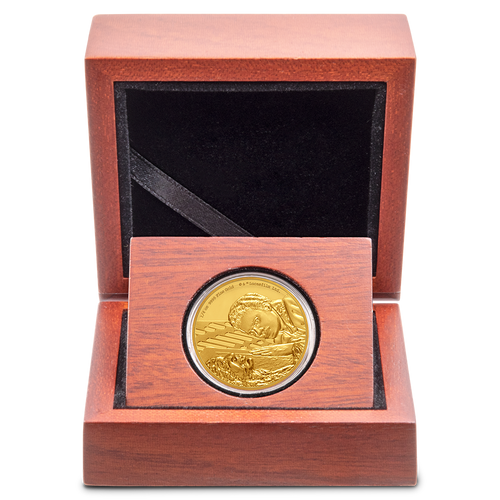 Star Wars Classic: Lando Calrissian™ 1/4oz Gold Coin Display