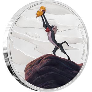 The Lion King 4x1oz Silver Coin 1