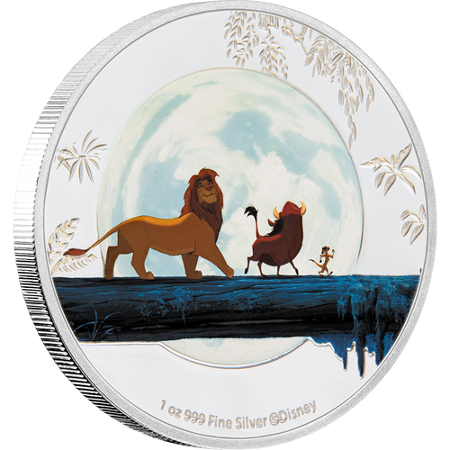 The Lion King 4x1oz Silver Coin 3