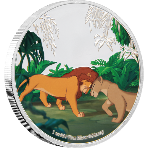 The Lion King 4x1oz Silver Coin 4