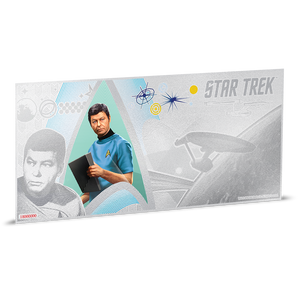Star Trek Original Series - Dr. McCoy 5g Silver Coin Note