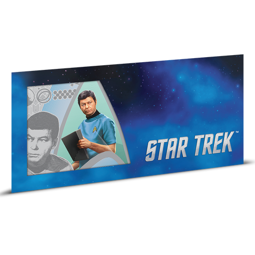 Star Trek Original Series - Dr. McCoy 5g Silver Coin Note Sleeve