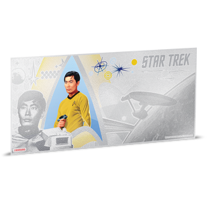 Star Trek Original Series - Lt. Sulu 5g Silver Coin Note