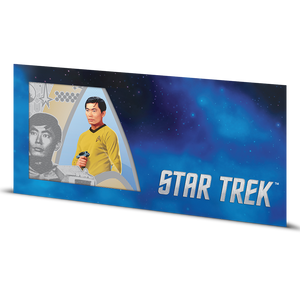 Star Trek Original Series - Lt. Sulu 5g Silver Coin Note Sleeve