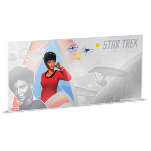 Star Trek Original Series - Lt. Uhura 5g Silver Coin Note