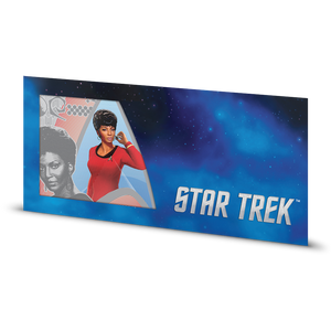 Star Trek Original Series - Lt. Uhura 5g Silver Coin Note Sleeve