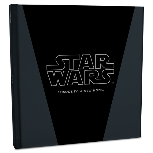Star Wars: A New Hope - Luke Skywalker™ 5g Silver Coin Note Collector's Album