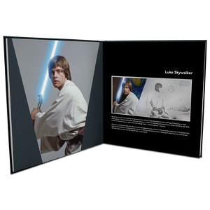 Star Wars: A New Hope - Luke Skywalker™ 5g Silver Coin Note PLUS Collector's Album