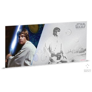 Star Wars: A New Hope - Luke Skywalker™ 5g Silver Coin Note
