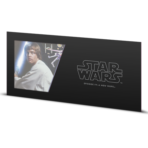 Star Wars: A New Hope - Luke Skywalker™ 5g Silver Coin Note Sleeve