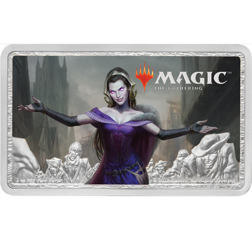 Magic: the Gathering - Liliana 1oz Silver Coin