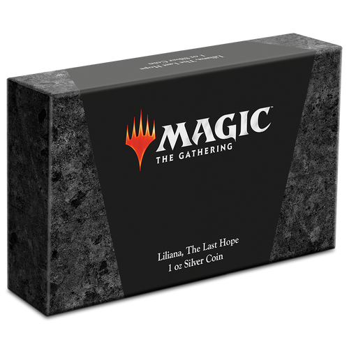 Magic: the Gathering - Liliana 1oz Silver Coin Box