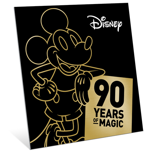 Mickey Mouse 90th Anniversary 1oz Gold Coin