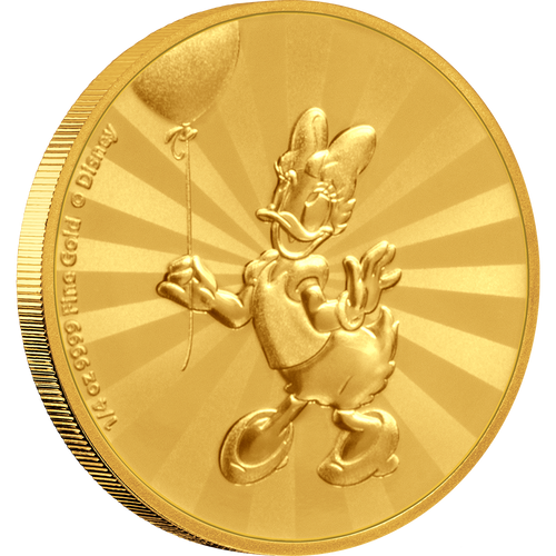 Mickey Mouse & Friends Retro Carnival - Daisy Duck 1/4oz Gold Coin