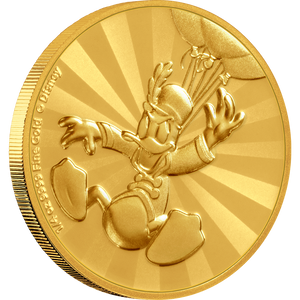 Mickey Mouse & Friends Retro Carnival - Donald Duck 1/4oz Gold Coin