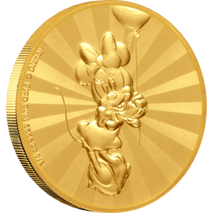 Mickey Mouse & Friends Retro Carnival - Minnie Mouse 1/4oz Gold Coin