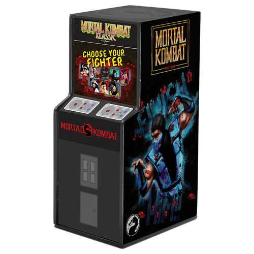 Mortal Kombat 1oz Silver Coin Display Box Right