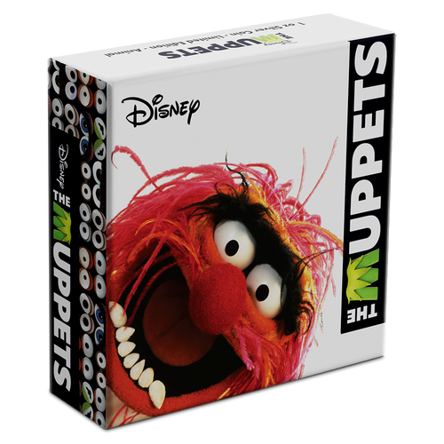 Disney: The Muppets - Animal 1oz Silver Coin Box
