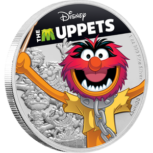 Disney: The Muppets - Animal 1oz Silver Coin