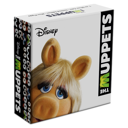 Disney: The Muppets - Miss Piggy 1oz Silver Coin Box