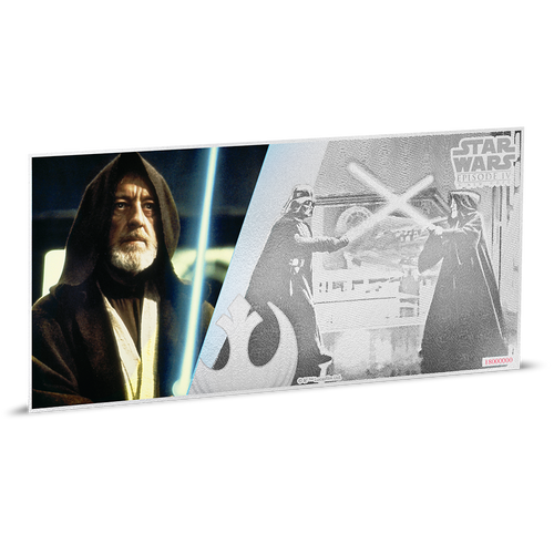 Star Wars: A New Hope - Obi-Wan Kenobi™ 5g Silver Coin Note