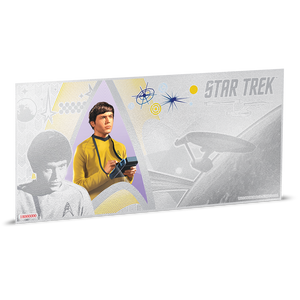 Star Trek Original Series - Ensign Pavel Chekov 5g Silver Coin Note