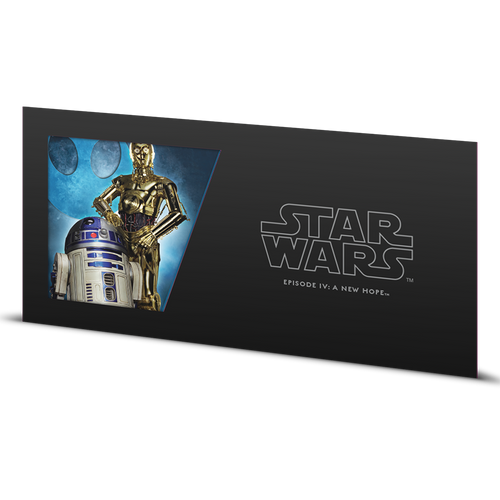 Star Wars: A New Hope - R2-D2™ & C-3PO™ 5g Silver Coin Note