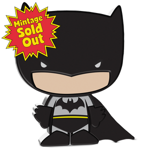 SOLD OUT! Chibi™ Coin Collection DC Comics Series – BATMAN™ 1oz Silver Coin