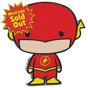 SOLD OUT! Chibi™ Coin Collection DC Comics Series – THE FLASH™ 1oz Silver Coin