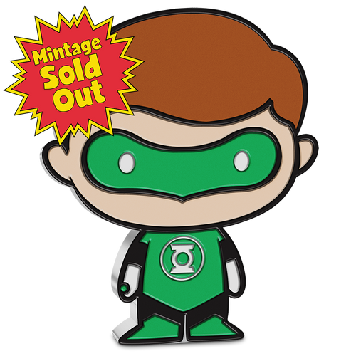 SOLD OUT! Chibi™ Coin Collection DC Comics Series – GREEN LANTERN™ 1oz Silver Coin