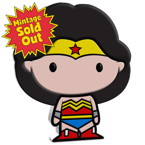 SOLD OUT! Chibi™ Coin Collection DC Comics Series – WONDER WOMAN™ 1oz Silver Coin