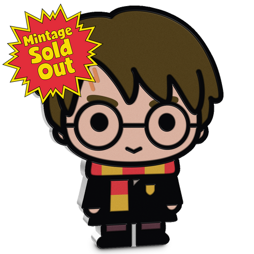 SOLD OUT! Chibi™ Coin Collection HARRY POTTER™ Series – HARRY POTTER 1oz Silver Coin