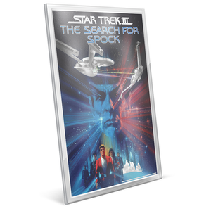 Star Trek III: The Search for Spock  - 35g Pure Silver Foil Edge