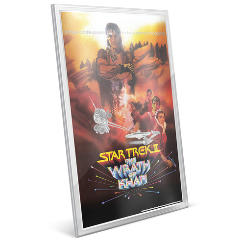 Star Trek II: The Wrath of Khan - 35g Pure Silver Foil Edge