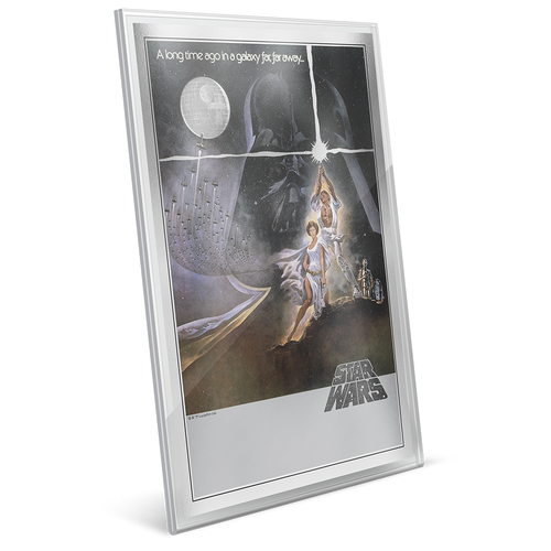 Star Wars: A New Hope - Premium 35g Silver Foil
