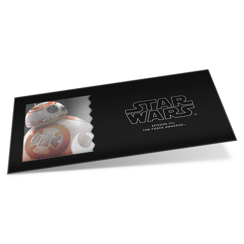 Star Wars: The Force Awakens - BB-8™ 5g Silver Coin Note Sleeve