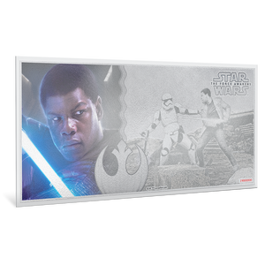 Star Wars: The Force Awakens - Finn™ 5g Silver Coin Note