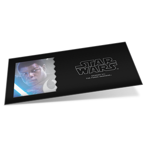 Star Wars: The Force Awakens - Finn™ 5g Silver Coin Note Sleeve