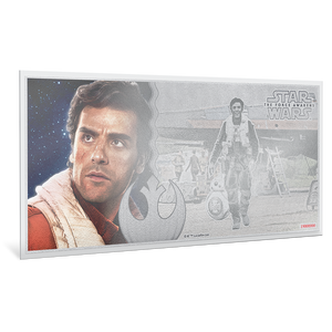 Star Wars: The Force Awakens - Poe Dameron™ 5g Silver Coin Note
