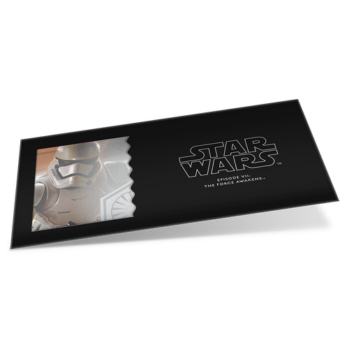 Star Wars: The Force Awakens - Stormtrooper™ 5g Silver Coin Note Sleeve