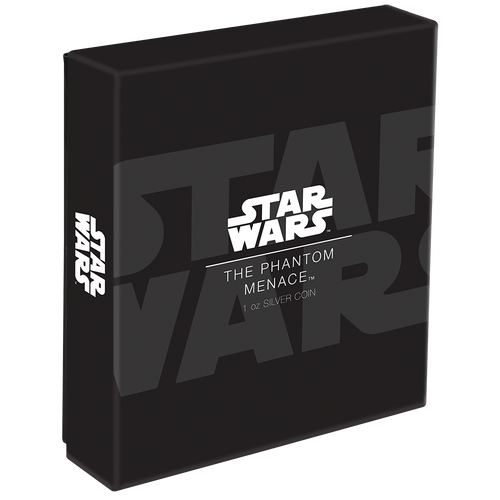 Star Wars: The Phantom Menace 1oz Silver Coin Box