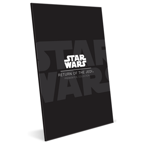 Star Wars: Return of the Jedi - Premium 35g Silver Foil Packaging