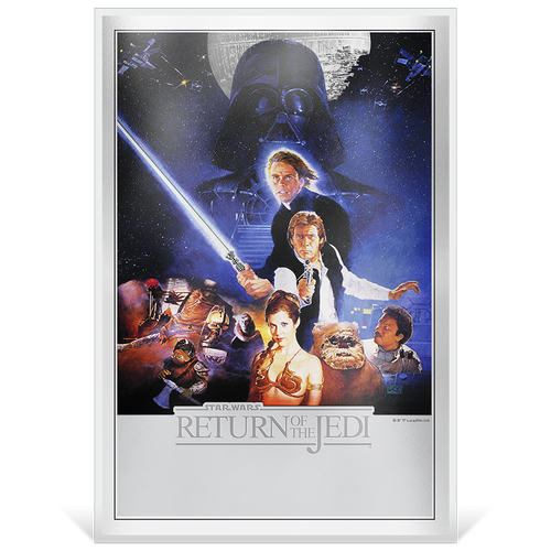 Star Wars: Return of the Jedi - Premium 35g Silver Foil Base